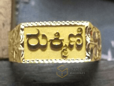 gold engraving szolid machinzs